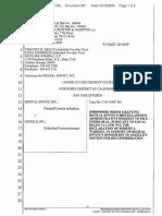 Digital Envoy Inc., v. Google Inc., - Document No. 397