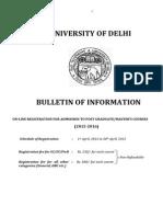 DU Admission 2015-16