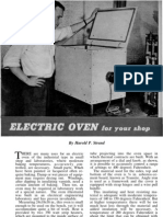 Popular Mechanics - Curing Oven
