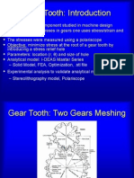 Gear Tooth Design
