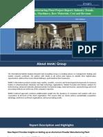 Aluminium Powder Manufacturing Plant Project Report