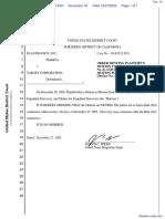 Plantronics, Inc. v. Target Corporation - Document No. 16
