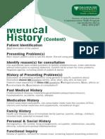 Card Medical History