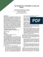 FPGA Clock Network Architecture Flexibility vs. Area and Power