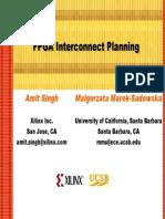 FPGA Interconnect Planning