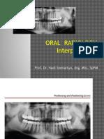 Oral Radiology 2 Prof