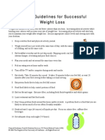 Helpful Guidelines for Successful Weight Loss