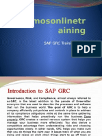SAP GRC Training