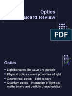 Clinical optics review