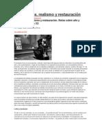 Vanguardias Artísticas, Realismo y Restauración Burguesa. Por Thyago Villela, Militante de LER-QI}