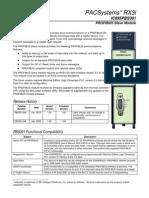 Pacsystems Rx3i Profibus Slave Module, Ic695pbs301-Ba, Gfk-2375b