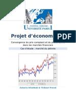 Projet d'Économétrie - Rjapport