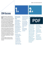 5 Prinicples for CRM Success