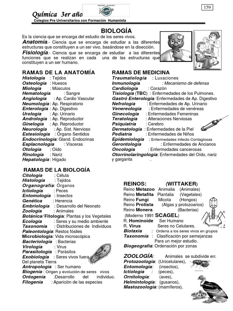 Biología 3ro 1er y 2do Bimestre