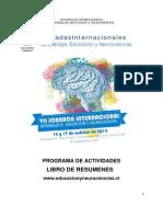 Libro de Resúmenes VII Jornada Internacional Aprendizaje, Educación y Neurociencias