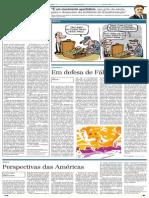 Perspectivas Das Américas - Ricardo Luigi e Nelson Damico Jr - Correio Popular