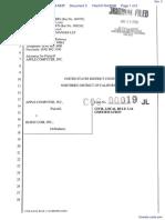 Apple Computer Inc. v. Burst.com, Inc. - Document No. 3