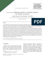 Ã, Dymoke, Pell. 2006. Mentoring beginning teachers in secondary schools An analysis of practice
