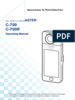 C-700 Operating Manual (English)