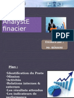 Analyste Financier(1)