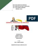 Vida y Obra de Francisco de Miranda