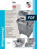 FOLLETO PUMA 400A Cortadora OK Industrial