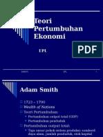Ekonomi Pembangunan Pengantar Adam Smith