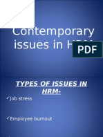 27656785 Contemporary Issues of HRM