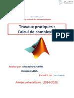 Rapport Tp Matlab Mas