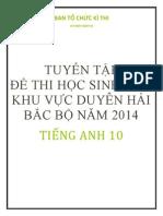 Bo de Thi Hoc Sinh Gioi Duyen Hai Bac Bo 2014