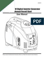 2500 Watt Inverter Generator