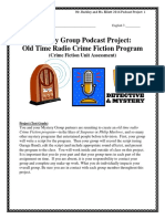 Mystery Group Podcast Project