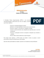 2015 1 Administracao 5 Analise Investimentos