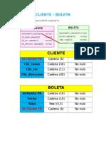 Cliente - Boleta