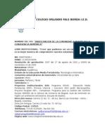 Colegio Orlando Fals Borda Versión 2 PEI