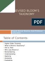 Blooms Texonomy