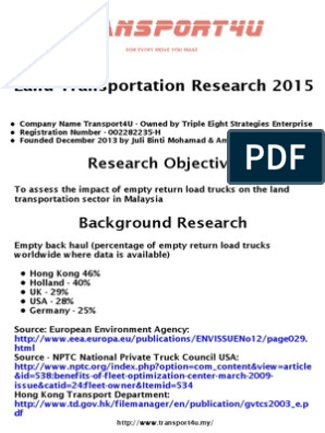 transport4u-research-summary-for-Malaysia-land