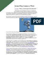 Director Informe Pisa,LOMCE y Wert