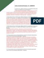 Atividade de Planejamento e Controle de Produção 2007 - Gabarito