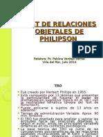 Modo de Aplicar El Test Phillipson Relaciones Objetales Muy Bueno