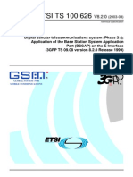Application of the Base Station System Application Part (BSSAP) on the E-Interface(3GPP TS 09.08 Version 8.2.0 Release 1999)