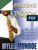 Applying the Kingdom - Myles Munroe