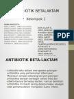 Ppt Kimed Antibiotik Beta Laktam