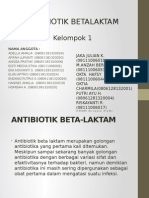 Ppt Kimed Antibiotik Beta Laktam