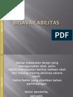 Uji Bioavailabilitas dan Bioekivalensi