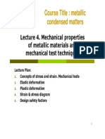 Lecture 4 _ Mechanical Properties