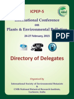 ICPEP-5 (2015) Directory of Delegates