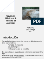 HidrologiaIII Caudal2011.ppt