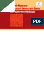 International IDEA _ English-Myanmar Glossary of Democratic Terms (Myanmar)