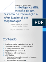 Implementacao BI Mozambique